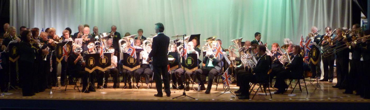 Verwood Concert Brass-Banner